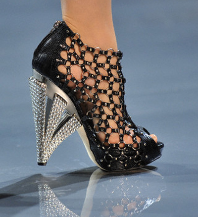Christian Dior Leather Mesh Extravaganza