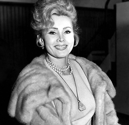 Zsa Zsa Gabor wears it well