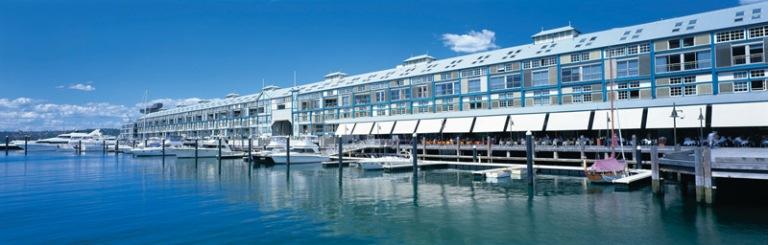 BLUE hotel, Woolloomooloo Wharf