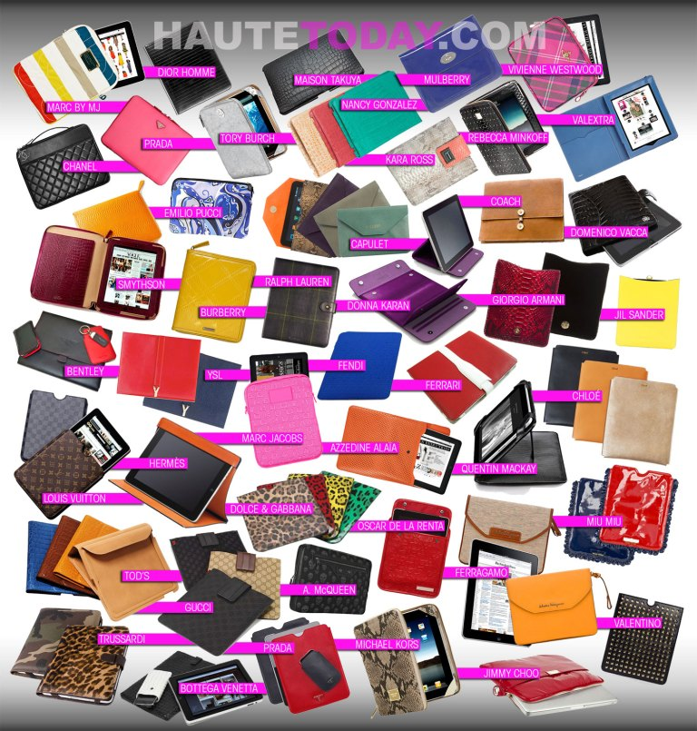 Fashion Designer iPad Covers