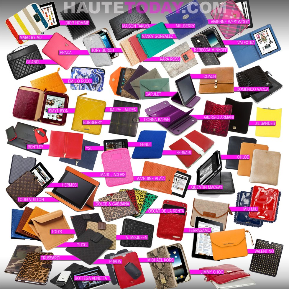 Fashion Designer iPad Covers