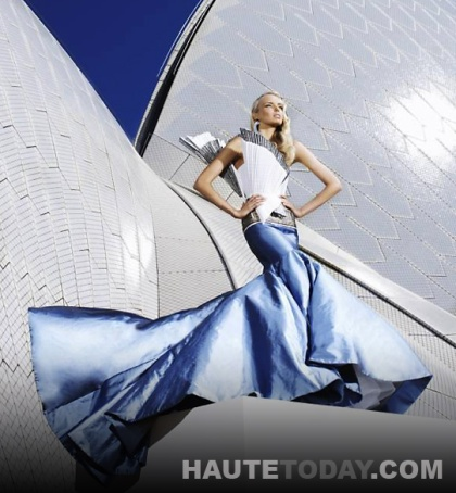 Sydney Opera House Barbie Doll by Alex Perry
