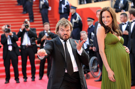 Angelina Jolie & Jack Black