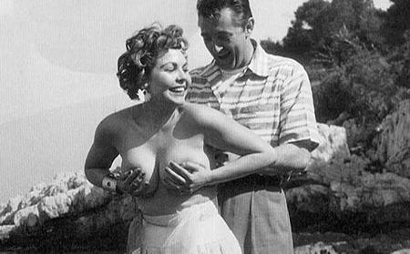 Simone Sylva & Robert Mitchum