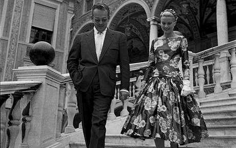 Grace Kelly & Prince Rainier of Monaco