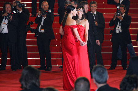 Monica Belucci & Sophie Marceau