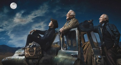 Sally Ride, Buzz Aldrin and Jim Lovell