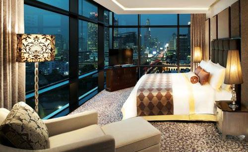 St. Regis Bangkok Hotel Guest Room