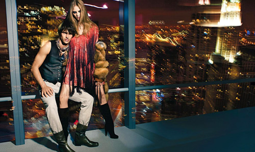 Heidi Mount and Michael Gstoettner for Bally