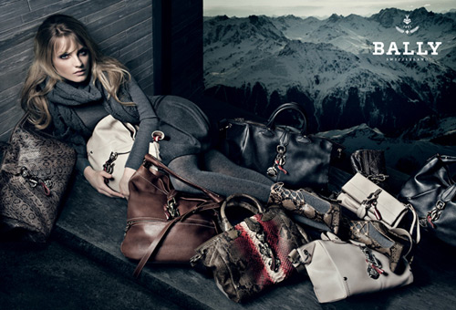 Anna Maria Jagodzinska for Bally