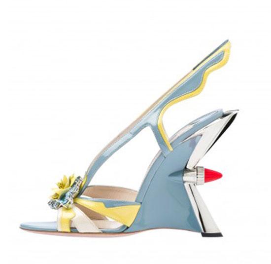 Gun Heel Shoes Tsa