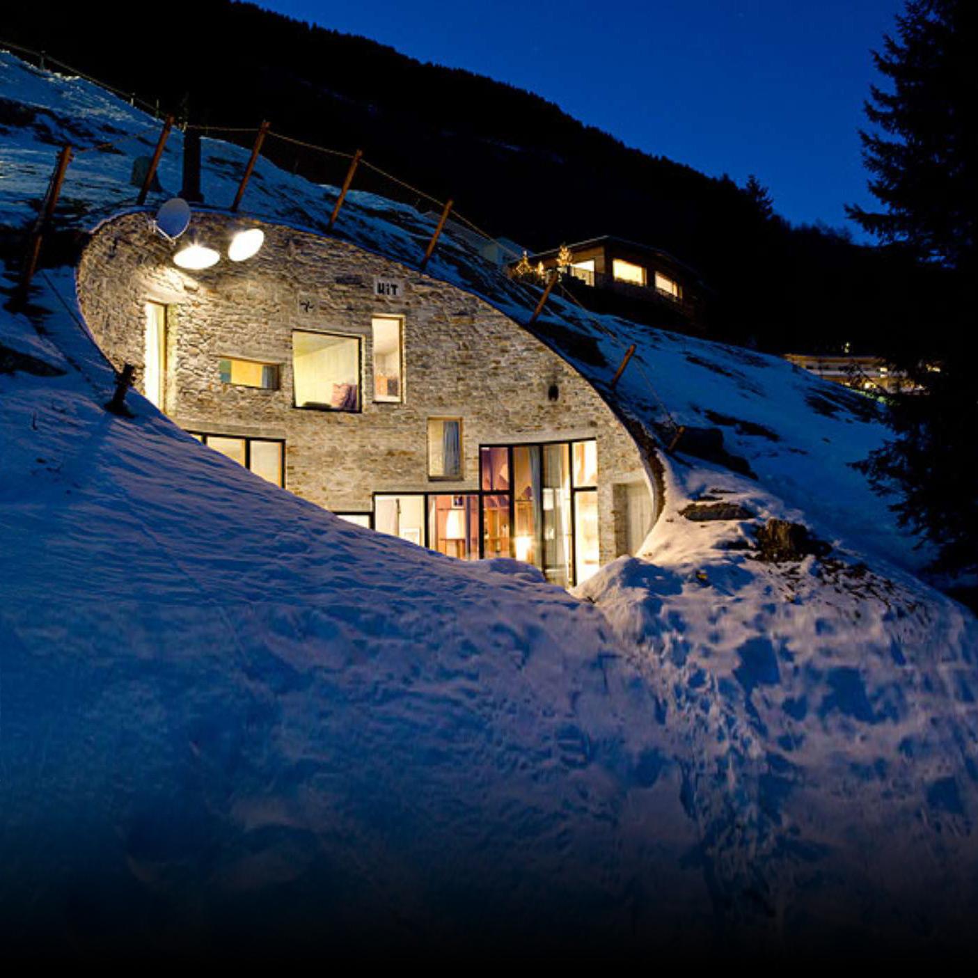 villa vals a unique swiss alps experience haute today. Black Bedroom Furniture Sets. Home Design Ideas