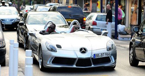 Kanye West in Cannes