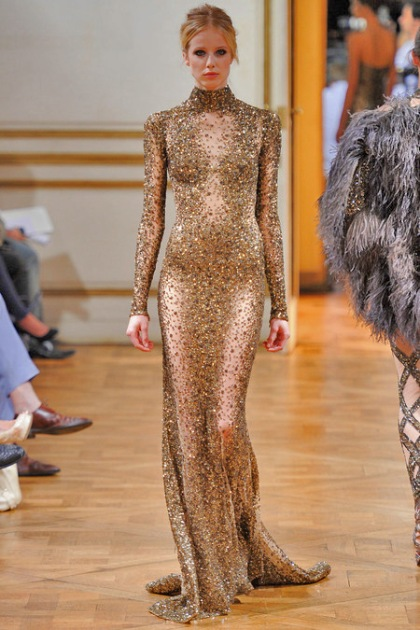 Top 10 dresses zuhair murad haute couture fall 2013 for Haute couture today