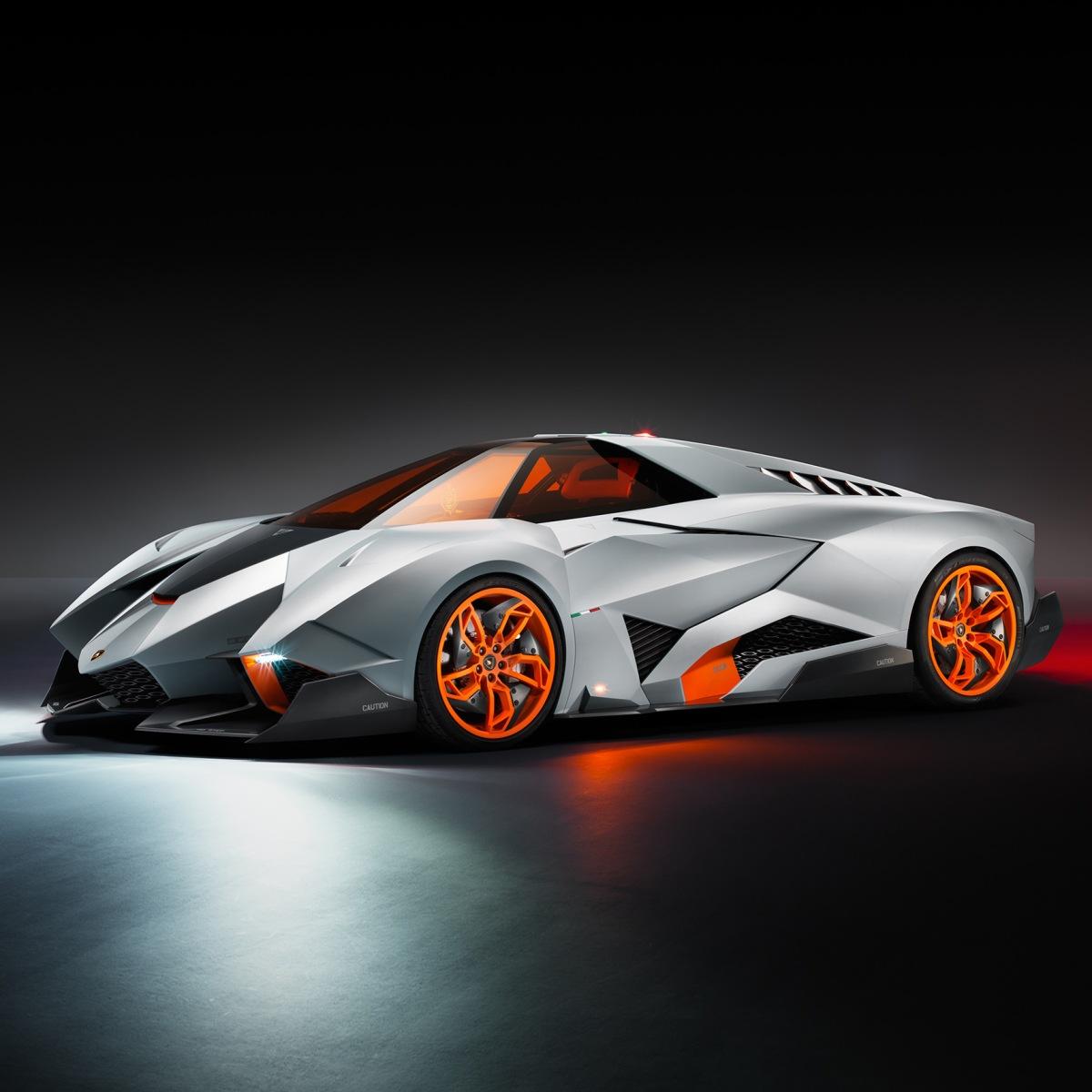 Lamborghini Egoista Inside: Lamborghini's Egoista Concept Car