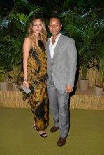 Chrissy Teigen and John Legend at Leonardo DiCaprio Foundation Gala in St. Tropez