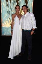 Heidi Klum and Vito Schnabel at Leonardo DiCaprio Foundation Gala in St. Tropez