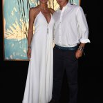 Heidi Klum and Vito Schnabel at Leonardo DiCaprio Foundation Gala in St. Tropez