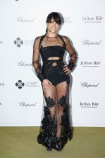 Michelle Rodriguez at Leonardo DiCaprio Foundation Gala in St. Tropez