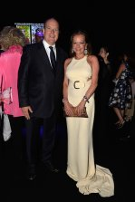 Prince Albert of Monaco and Caroline at Leonardo DiCaprio Foundation Gala in St. Tropez