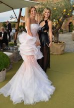 Carolina Parsons and Kate Hudson at Leonardo DiCaprio Foundation Gala in St. Tropez
