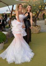 Carolina Parsons and Kate Hudson at Leonardo DiCaprio Foundation Gala in St. Tropez