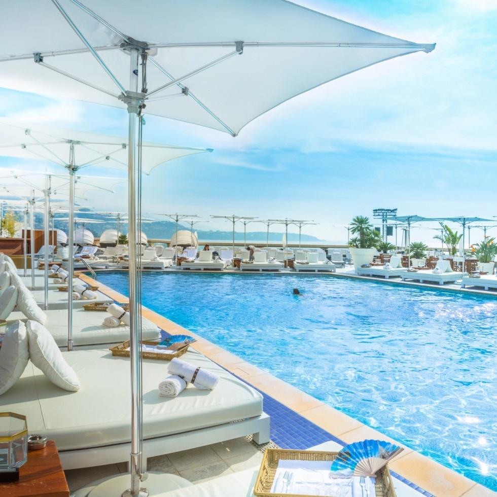 Nikki Beach, Monaco, Fairmont Monte Carlo, Rooftop, Pool, Party, Lounge, Summer