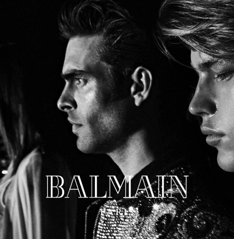 Balmain-Fall-2016-Campaign-Jon-Kortajarena-Jordan-Barrett