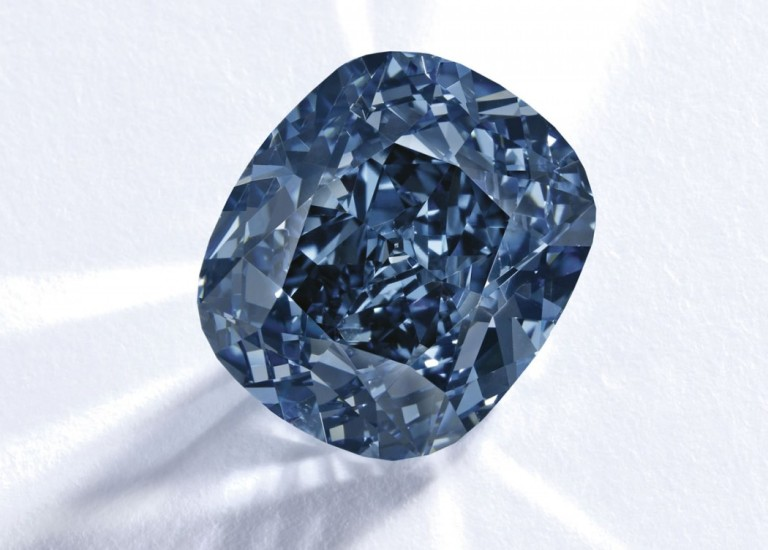 The Blue Moon of Josephine, rare stone, most expensive