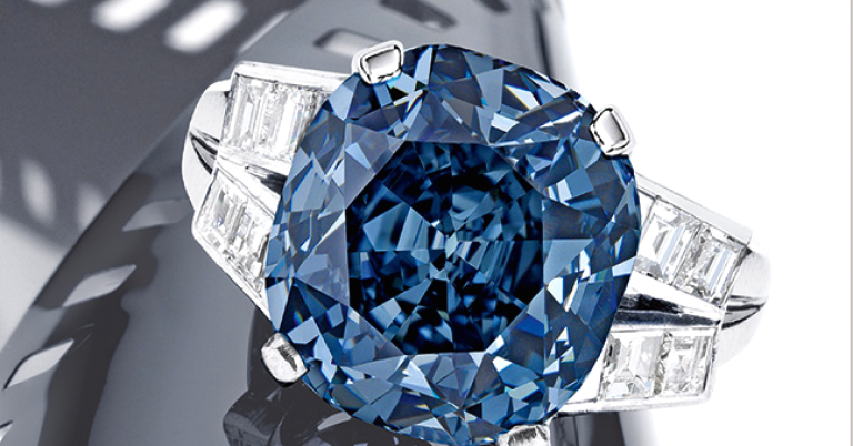 Shirley Temple Blue Diamond, Diamond Ring, Collectable