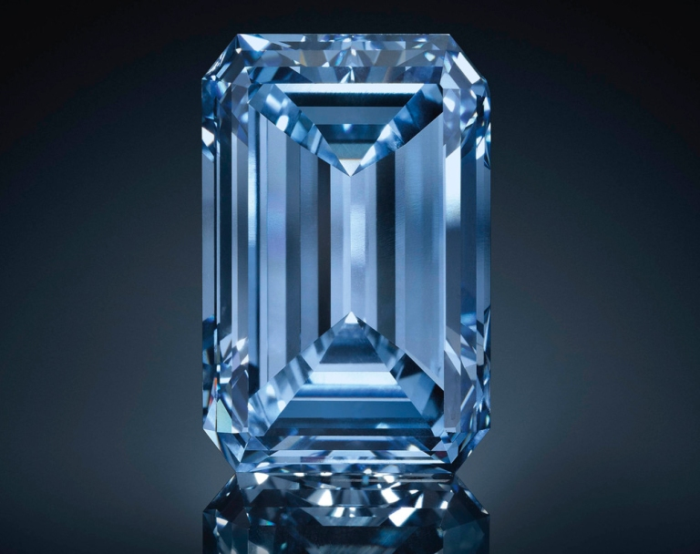 very rare and collectable The Oppenheimer Blue Diamond