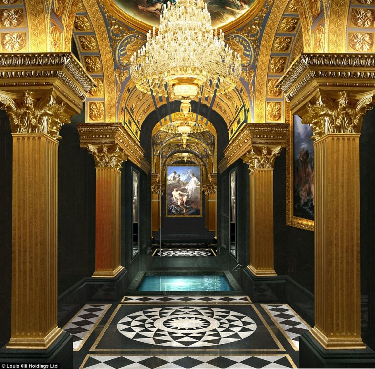 The most expensive and opulent luxury hotel in Macau - marble spa