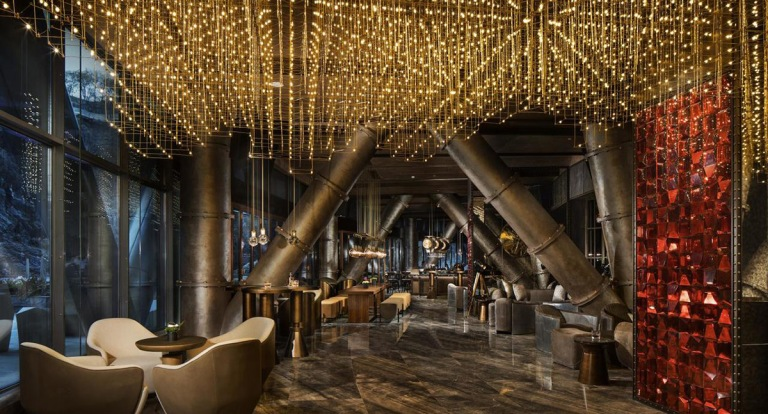 Intercontinental-Shanghai-quarry-underground-hotel-bar