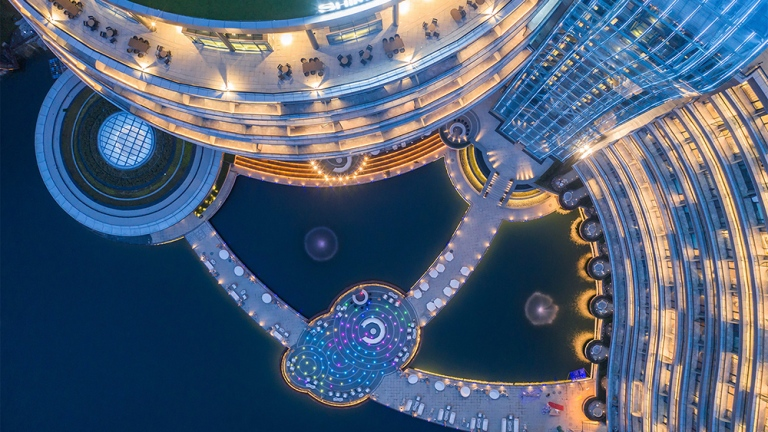 Intercontinental-Shanghai-quarry-underground-night-view