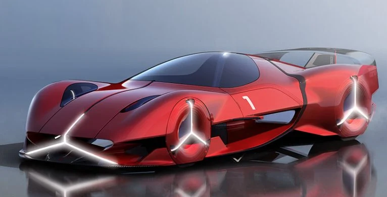 Red Sun: A Solar-Powered Hypercar - Haute Today
